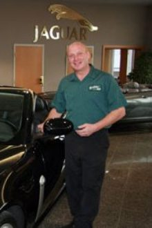 Chris Jackson - Jaguar Technician