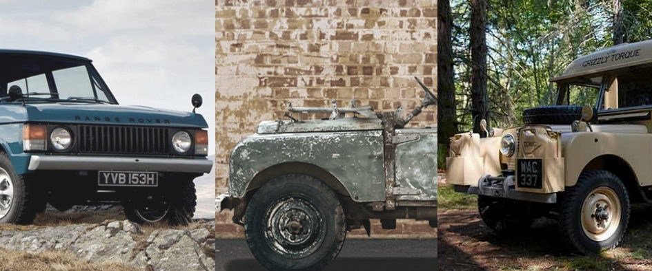 Vintage Land Rover Vehicles