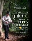 Concert Poster for Buddy's concert at the 'Centro Cultural e Historico Jose Figueres Ferrer' San Ramon de Alajuela, Costa Rica - December 8th, 2016