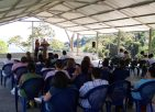 Preaching in Puriscal, Costa Rica