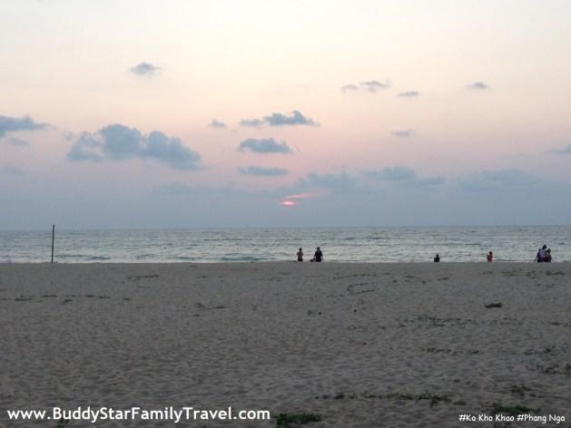 พาลูกเที่ยว,สงกรานต์,คนไม่เยอะ,เกาะคอเขา,พระอาทิตย์ตก