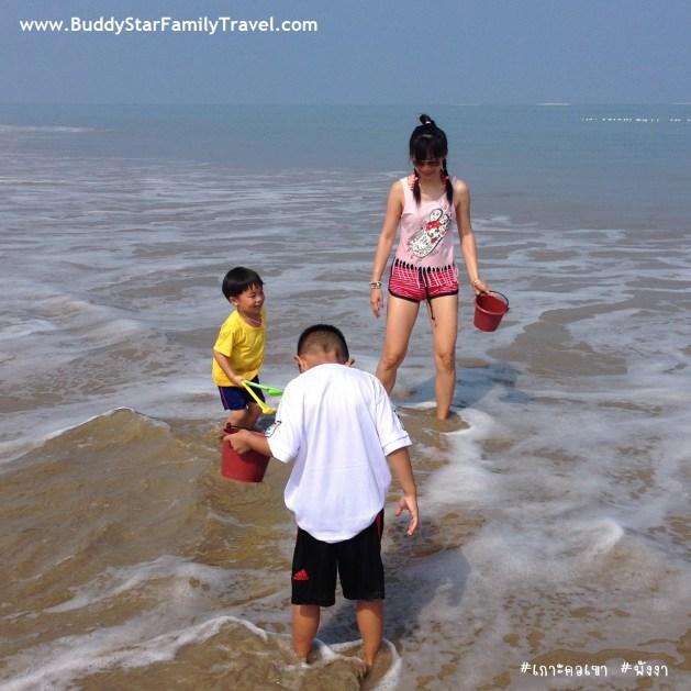 เกาะคอเขา,พาลูกเที่ยว,เด็ก,เที่ยวสงกรานต์,คนน้อย