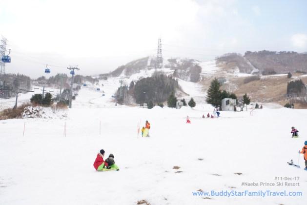 พาลูกเที่ยวหิมะ, เล่นหิมะ, ใกล้โตเกียว, ญีปุ่น, naeba prince, รีวิว, yuzawa