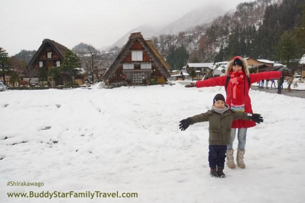 ชิราคาวาโกะ,พาลูกเที่ยว,เด็ก,หิมะ,ธันวาคม,