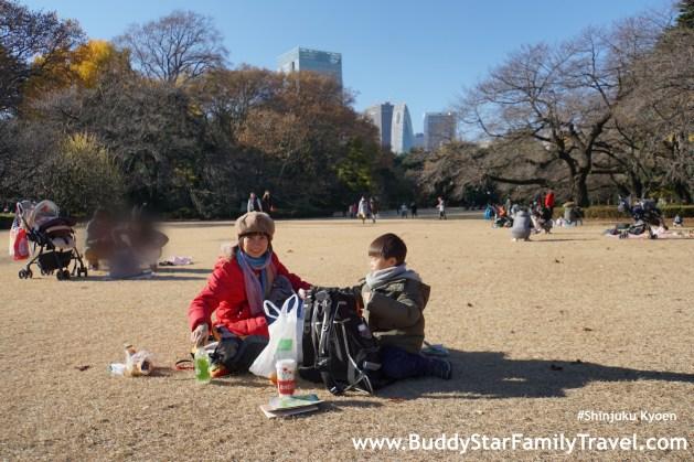 พาลูกตะลุยโตเกียว,ชินจูกุ,เที่ยวญี่ปุ่นเอง