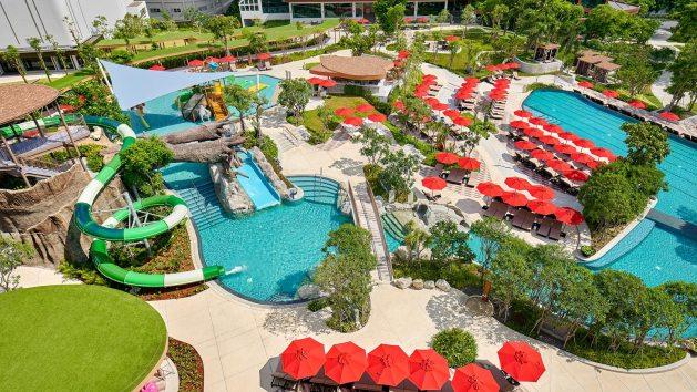 โรงแรมสวนน้ำพัทยา,สวนน้ำ,ที่พัก,พัทยา,สไลเดอร์, water slide, เด็ก, ครอบครัว