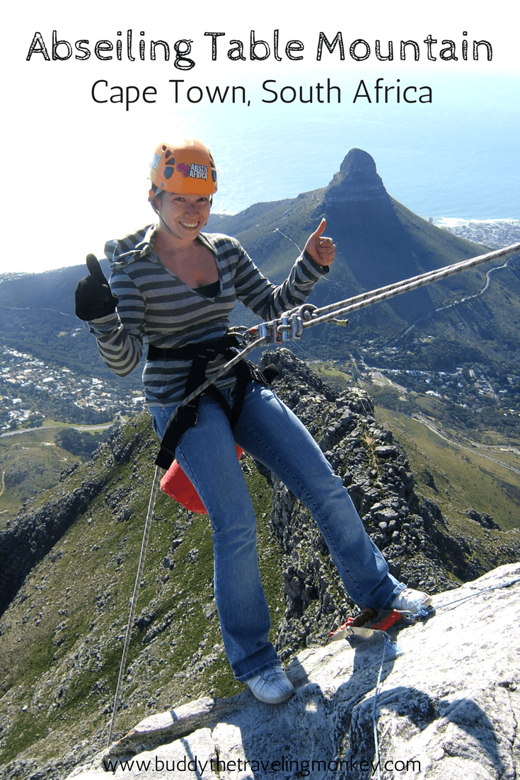 Abseiling Table Mountain in Cape Town, South Africa is the scariest thing I've ever done. But it was worth every exhilarating breathe! In this post, we reveal personal details about this thrilling adventure.