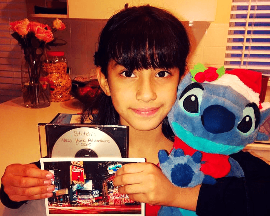 Camila and Stitch are reunited!