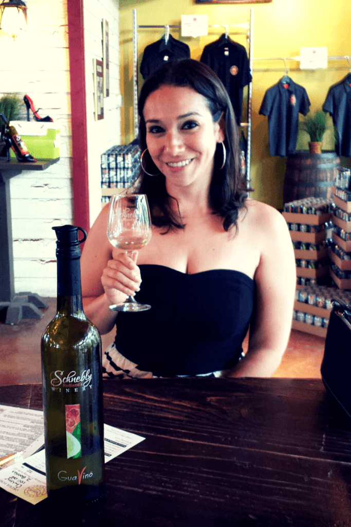 Wine tasting at the Schnebly Redland's Winery