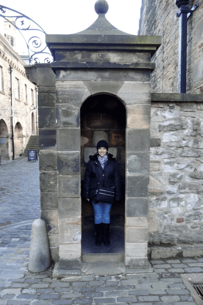 The Edinburgh castle is a top Edinburgh attraction