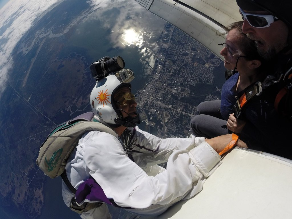 Jumping out of the plane