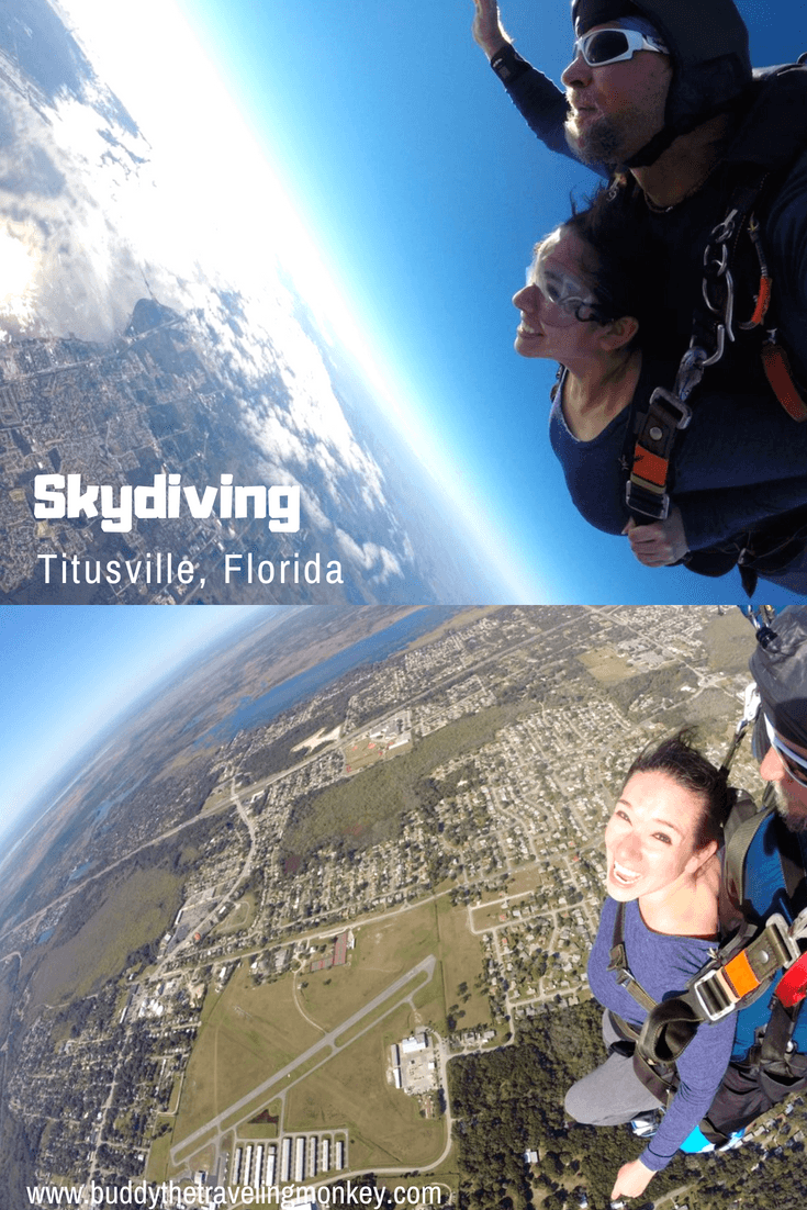 Skydiving in Titusville, Florida is a rush! Jump from 18,000 feet, the world's highest tandem jump, and get incredible views of Central Florida.