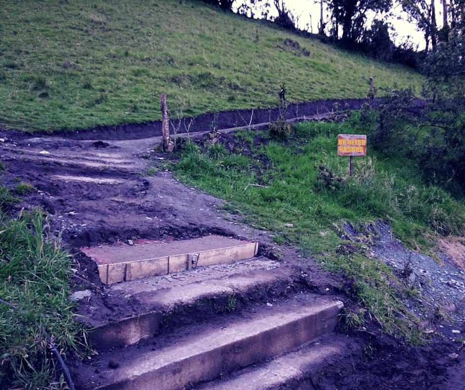 The path to La Casa Del Arbol Ecuador