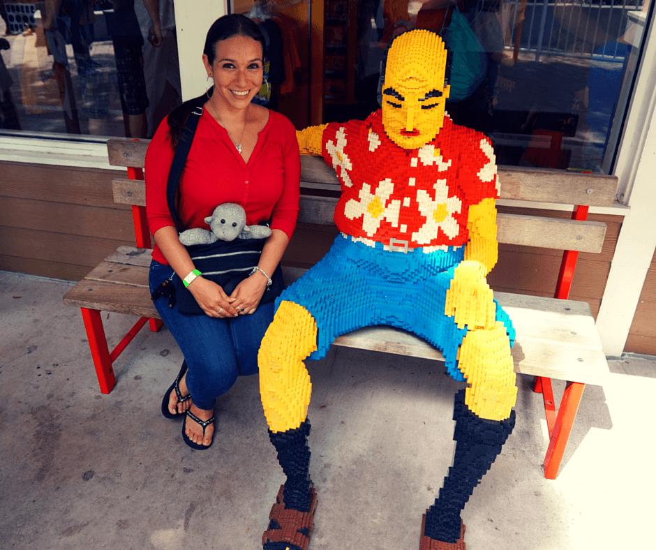 Buddy The Traveling Monkey Visiting Legoland Florida