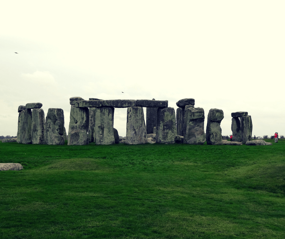 Seeing Stonehenge for the first time