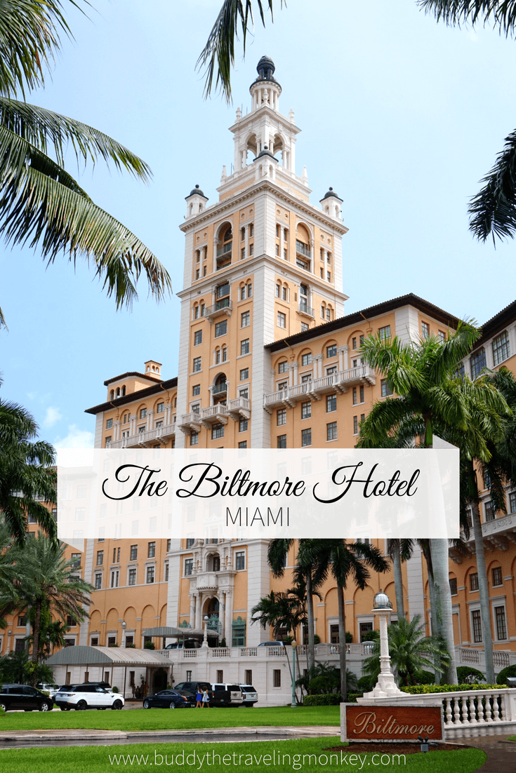 Enjoy FREE tours of the Biltmore Hotel in Miami. Tours are held every Sunday and they go over the amazing history of this iconic hotel and National Historic Landmark.