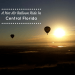 A Hot Air Balloon Ride In Central Florida