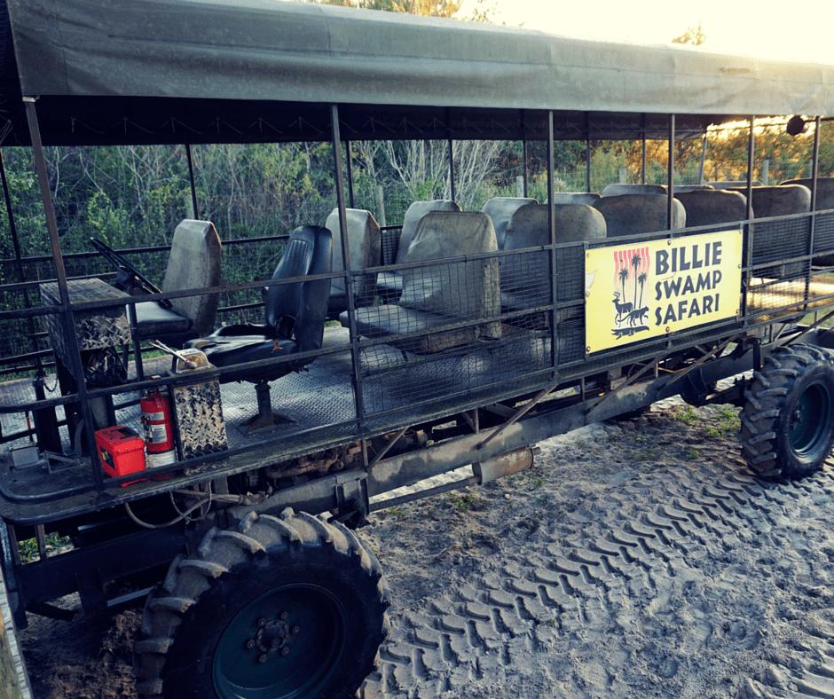 Billie Swamp Safari swamp buggy
