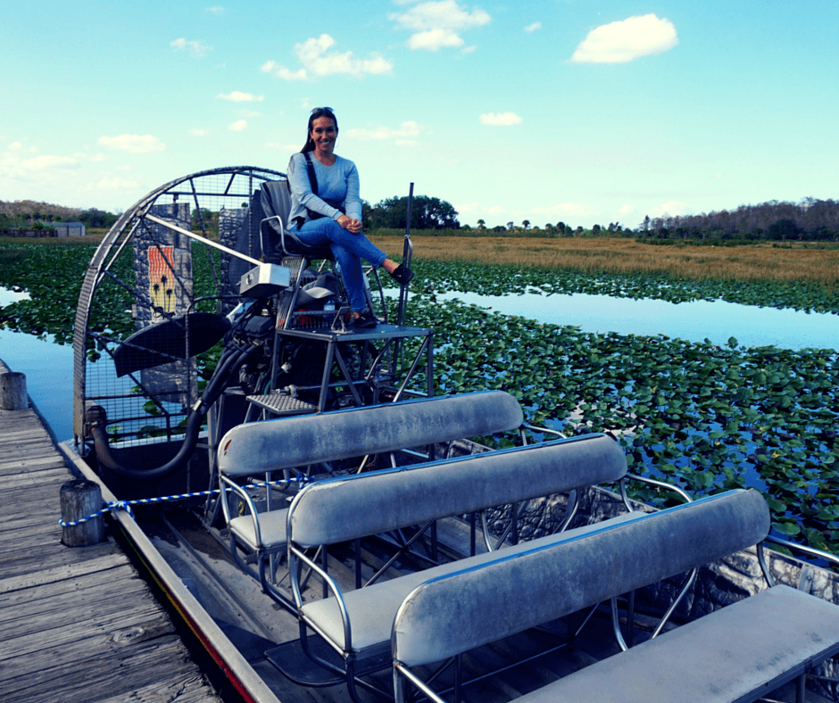 Billie Swamp Safari airboat