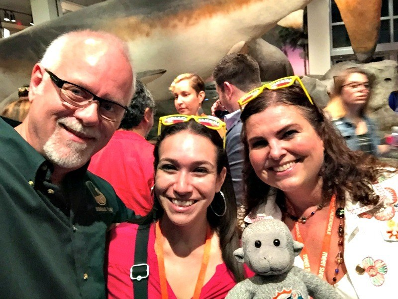 Howard, Melody, Vicky, and Buddy at TBEX North America in Fort Lauderdale