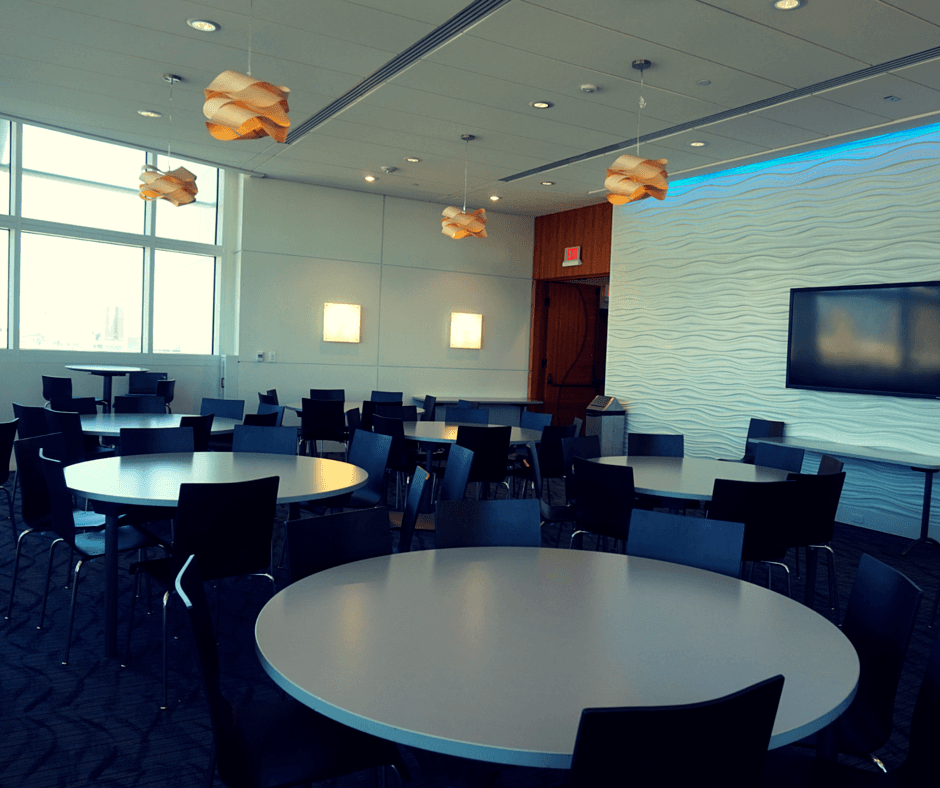 meeting space in Exploration Tower