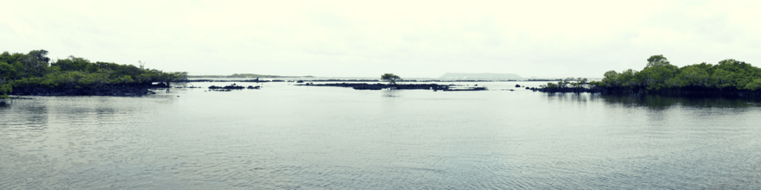 Panoramic view of Galapagos Islands