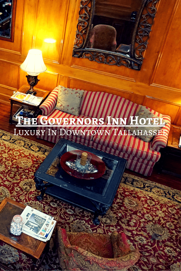 The Governors Inn Hotel, a luxury boutique hotel, is the perfect place to stay in historic downtown Tallahassee.
