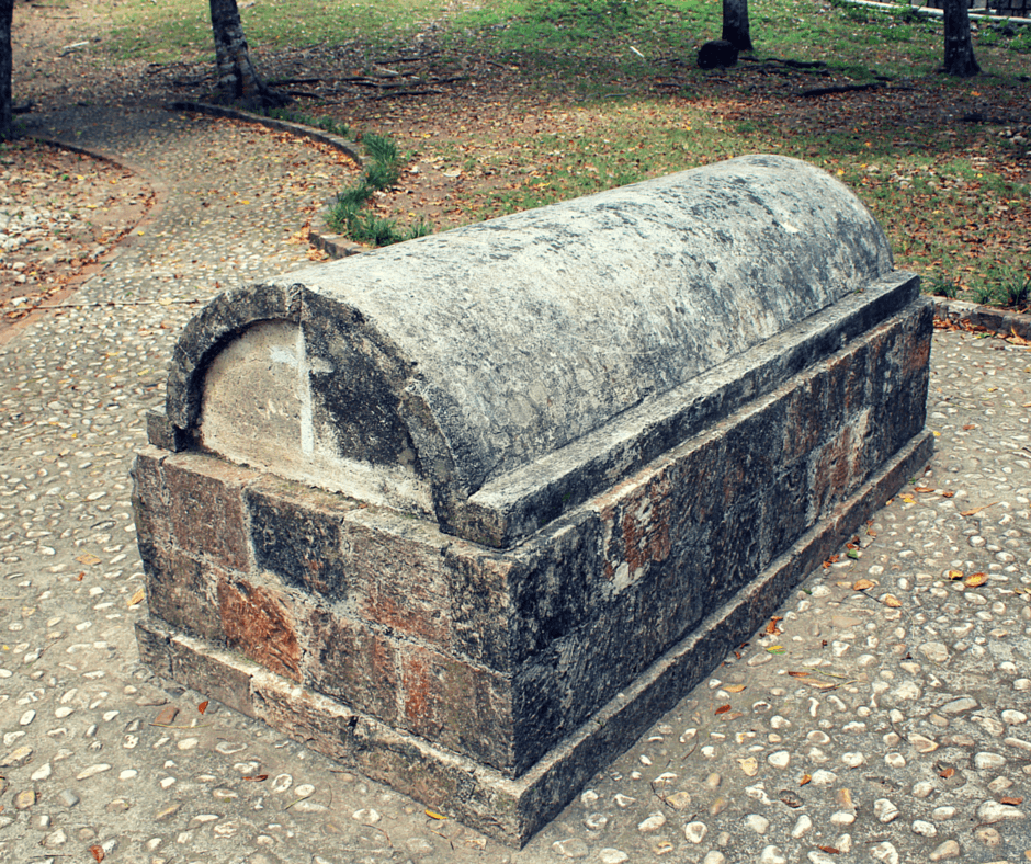 the grave of annie palmer