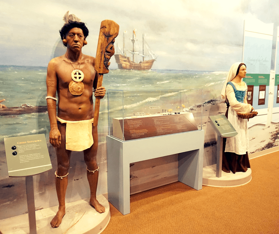Interactive exhibits at the Museum Of Florida History