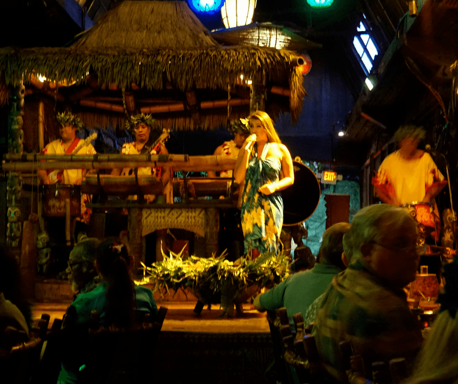 story telling at Mai-Kai Restaurant