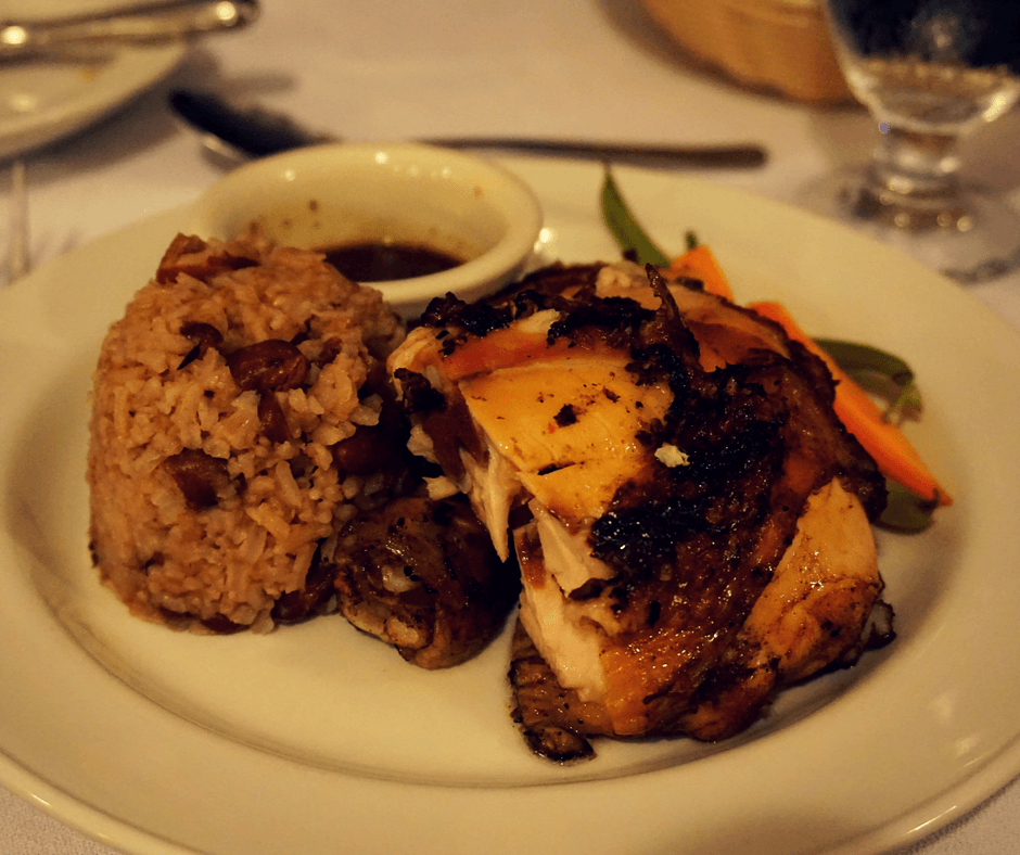 jerk chicken with rice and peas, reasons to visit Jamaica