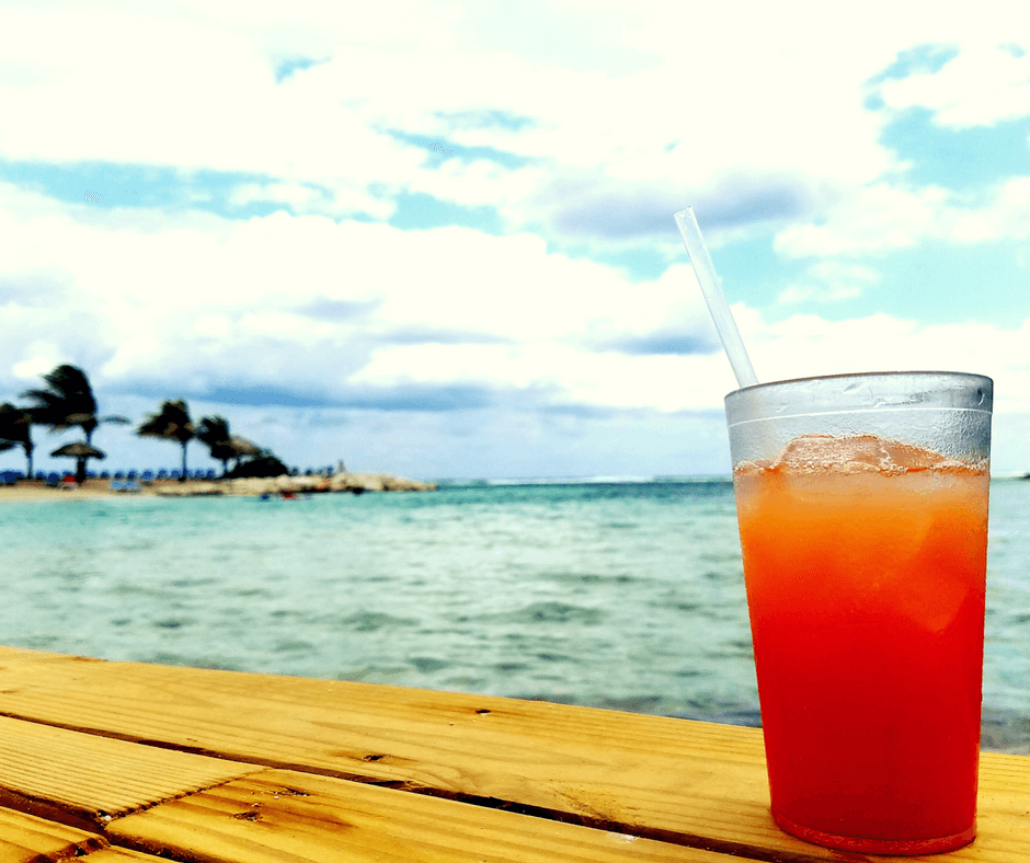 Rum and island in Jamaica
