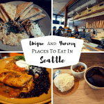 Unique And Yummy Places To Eat In Seattle, Washington