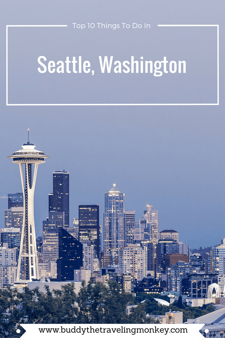 A visit to Seattle means a lot of great things to see and do. Here is a list of our top 10 things to do in the Emerald City.