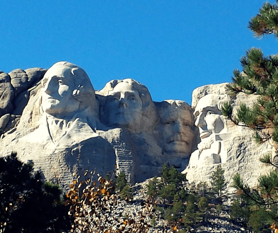 Buddy The Traveling Monkey Mount Rushmore