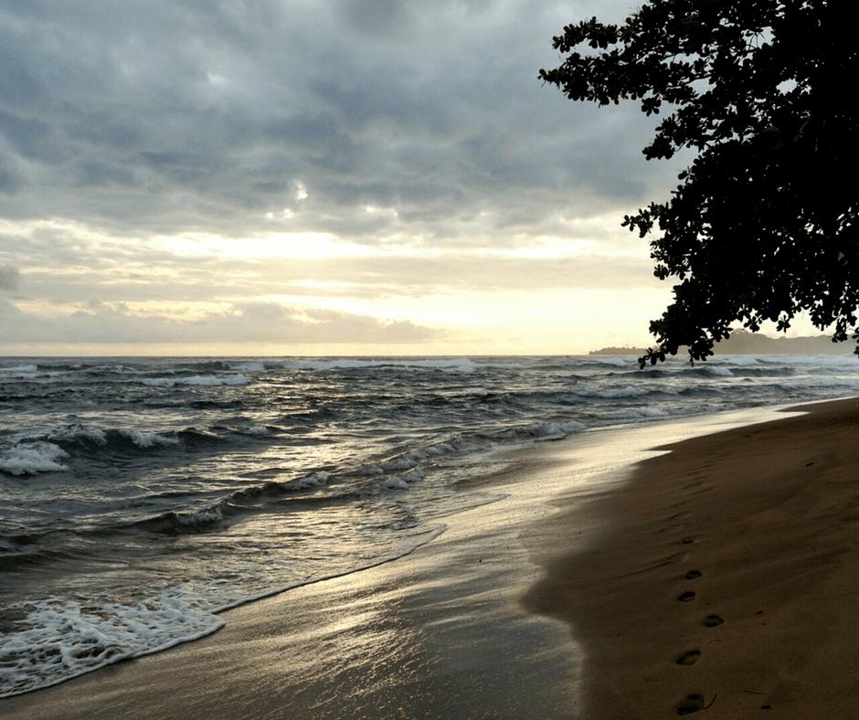 Beach of Puerto Viejo Costa Rica