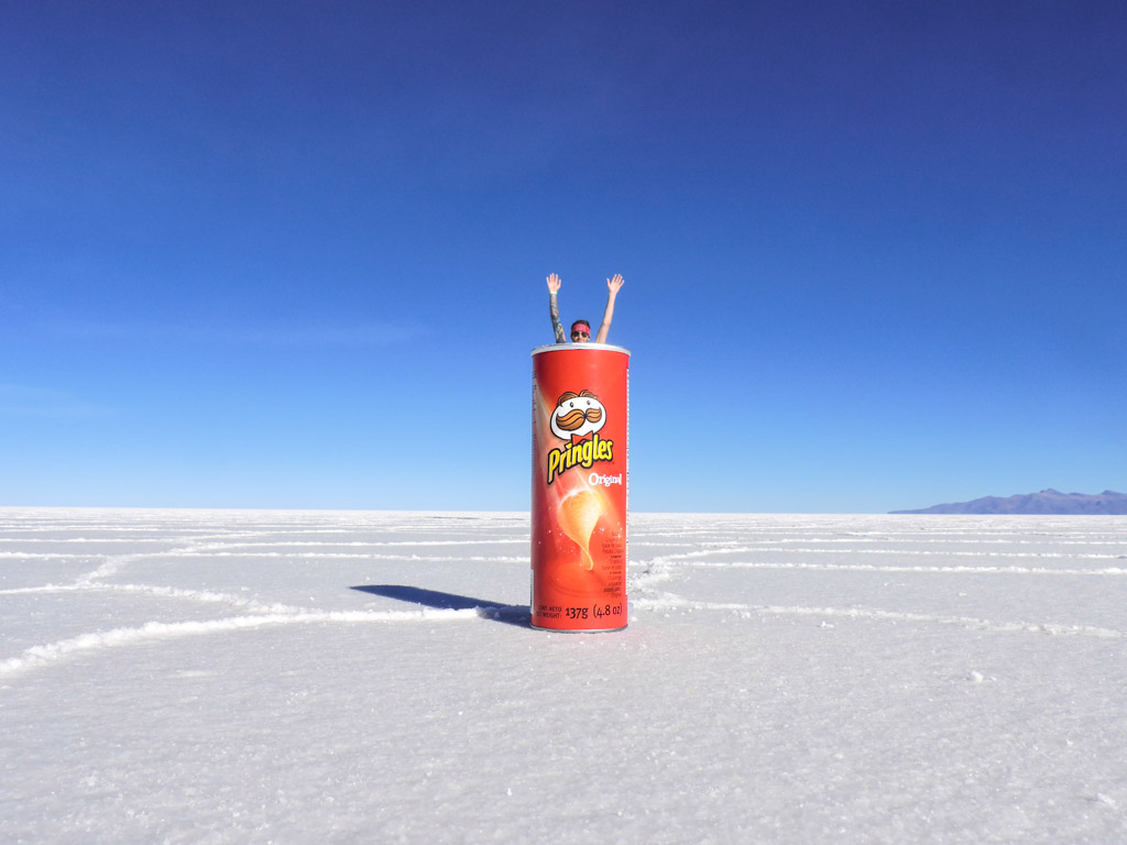 Cheesy Tourist Photos in Bolivia's Salt Flats