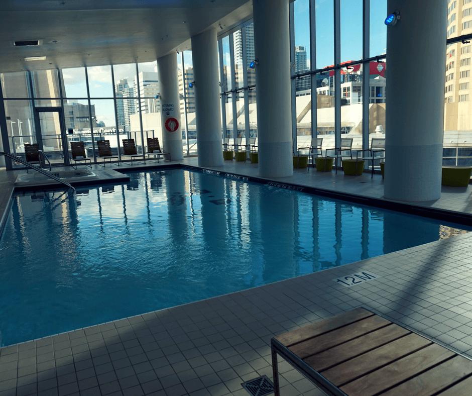 The Delta Hotel Toronto pool