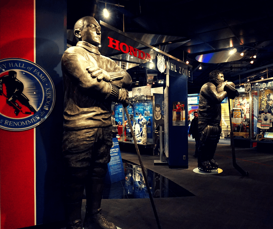 Inside the Hockey Hall of Fame in Toronto