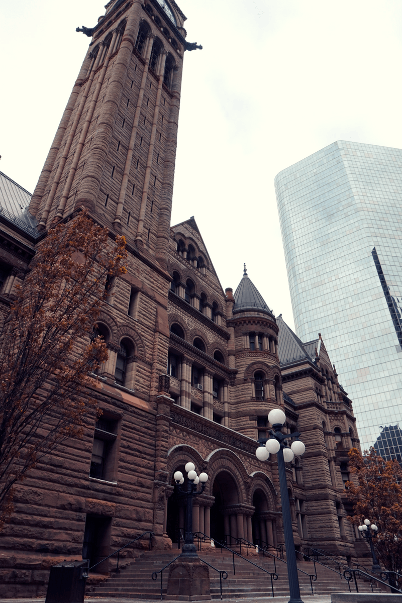 Old City Hall in Toronto