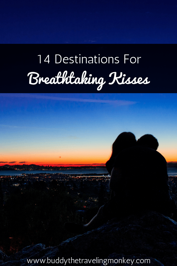 Are you daydreaming of where to have that perfect kiss with that special someone? Here are some of our top recommendations!