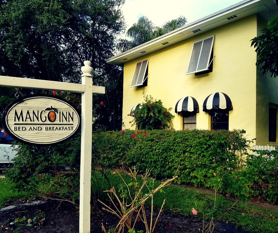 Outside of the Mango Inn
