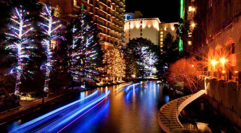 View of San Antonio Riverwalk