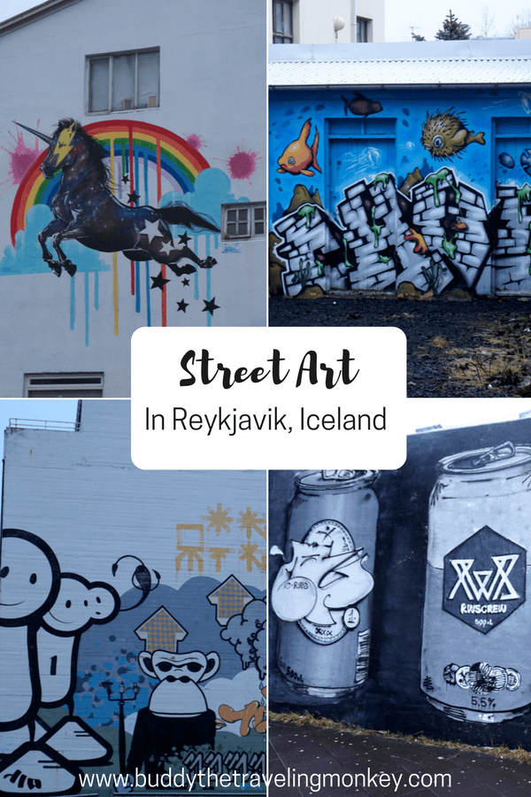 Street art in Reykjavik, Iceland is growing in popularity. Here are a few of our favorite pieces from our time exploring the city.