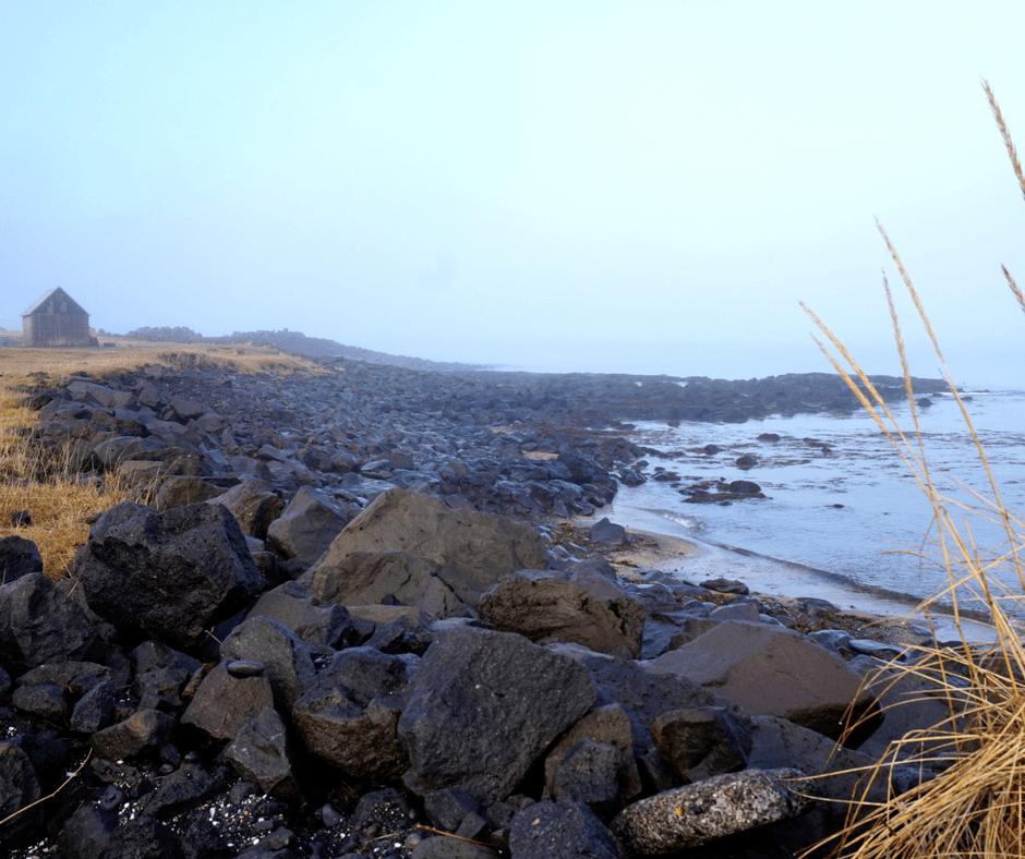 Path near Grotta lighthouse