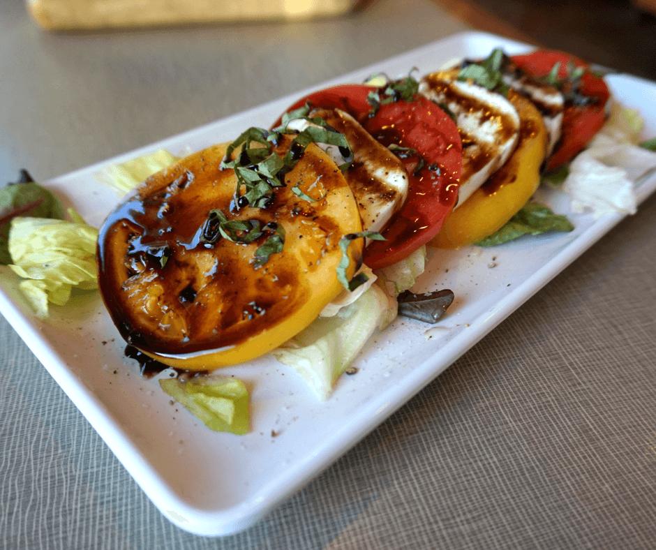 Caprese salad at West 82º Bar & Grill