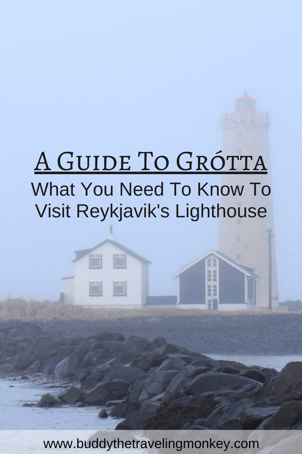 Everything you need to know to visit the Grótta Lighthouse in Reykjavik, Iceland including tips on how to get there and a map.