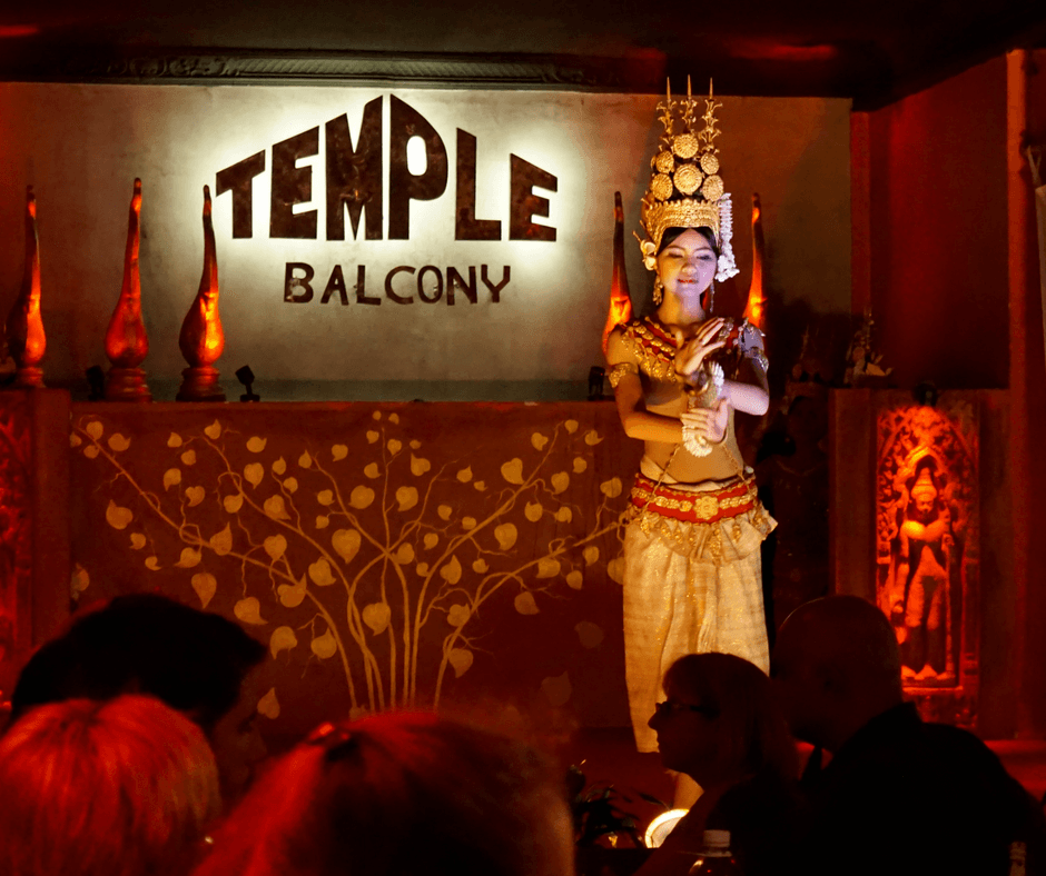 Dancer at Temple Bar in Siem Reap, Cambodia