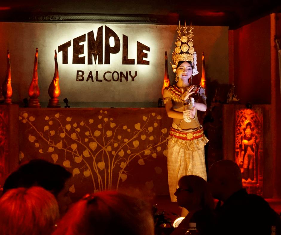 Dancer at Temple Bar in Siem Reap, Cambodia