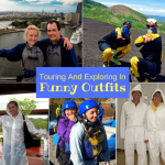 Touring And Exploring In Funny Outfits